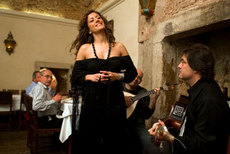 The fado singer Ana Moura