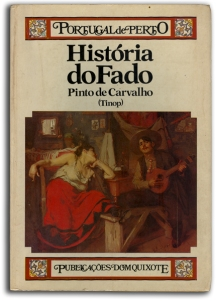 Cover of Pinto de Carvalho's Historia do Fado