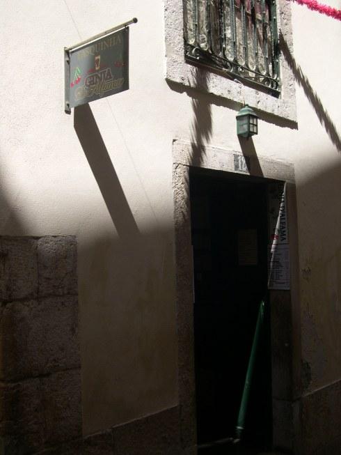 Ginja bar, Alfama, Lisbon, 2009